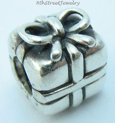 Pandora Sterling Silver 925 European Bead Charm Present - Gift 790300  #Pandora #European
