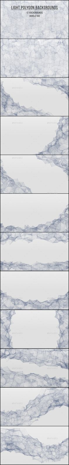 Light Polygon Backgrounds. Download here: http://graphicriver.net/item/light-polygon-backgrounds/11100625?ref=ksioks