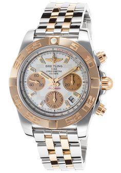Breitling CB014012-A722378C Men's Chronomat 41 Chronograph Two-Tone Stainless #Breitling #Luxury