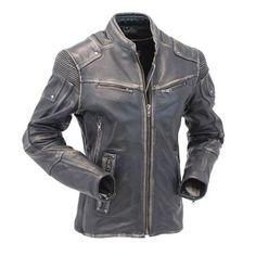 Motorcycle Cafe Racer Vintage Distressed Jacket | Black Distressed Jackets Distressed Leather Jacket, Men's Leather Jacket, Biker Leather, Leather Jackets, Real Leather, Jacket Men, Cow Leather, Motorcycle Leather, Anorak Jacket