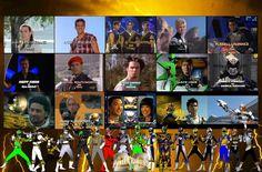 Honoring the 6th Rangers by rangeranime.deviantart.com on @DeviantArt