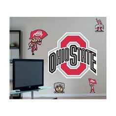 Fathead   Ohio State Buckeyes Logo from Target. Could use these on the camper.