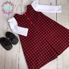 Girl Christmas dress , 0-3 months to 18-24 months size , Christmas dress for girls , first Christmas dress , baby Christmas dress by CreationsBabyB on Etsy https://www.etsy.com/listing/560152960/girl-christmas-dress-0-3-months-to-18-24