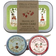 Country Living / Filberts of Dorset / Travel Hand Care Set
