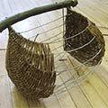 Oxfordshire Basketmakers - Guernsey Pannier a Cou with Claire Gaudion (www.oxfordshirebasketmakers.com)