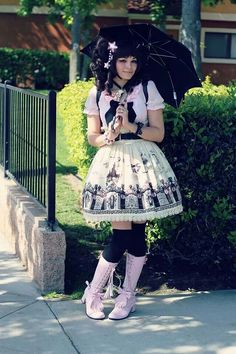 Hello Batty Lolita Coordinate.