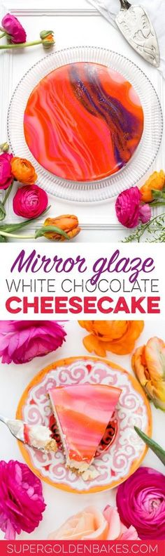 No need to turn the oven in order to create a show-stopping dessert! Make this spectacular mirror glaze white chocolate cheesecake instead.
