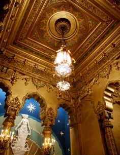 United Palace Theater interior by Thomas W. Lamb, NYC