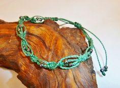 Flechtarmbänder - Armband blaugrün Redonda - ein Designerstück von Sunnseitn bei DaWanda