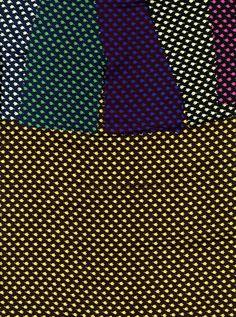 Floral print on silk in 6 colorways. Unknown...