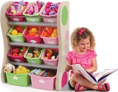 toy rack pink