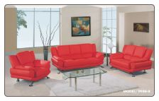 The main features of Sofa and Loveseat Set are the high density foam cushioning and ultra contemporary style. These features make this set extraordinary.