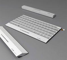 Folding Fan Keyboard