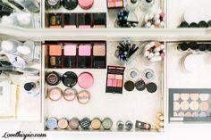 THIRD FLOOR: Bea's make-up inside her vanity desk drawer
