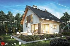 Projekt Konkret Plus - elewacja domu