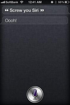 shit Siri says