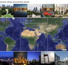 Tomorrow's cities: Do you want to live in a smart city? Smart cities around the world