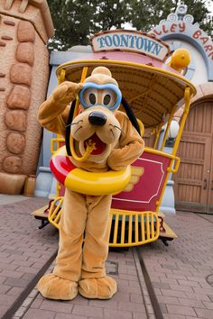 tinkeperi:  Tokyo Disney Resort: Pluto:)