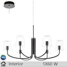 Lustra LEDiluminat decorativ interior Eglo, gama Noventa, model 95005 http://www.etbm.ro/eglo