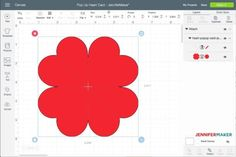 Uploading the Pop-Up Heart Card to Cricut Design Space
