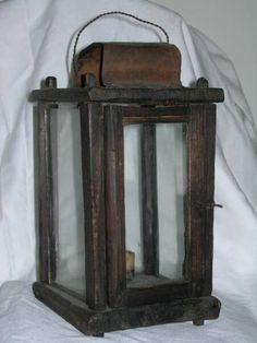 early barn lantern