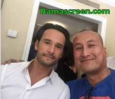 "Rockin' it with Rodrigo Santoro (""300,"" ""Ben-Hur"")"