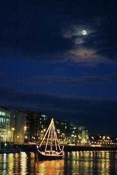 Christmas on the Liffey River