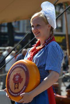 Alkmaar cheese market, The Netherlands