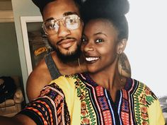"blackandinlove: "" When you try to sneak a pic with bae  @alexandermaxwell Follow here for more beautiful black love! """