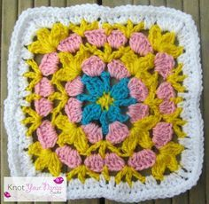 Knot Your Nana's Crochet: Granny Square CAL (Week 32)