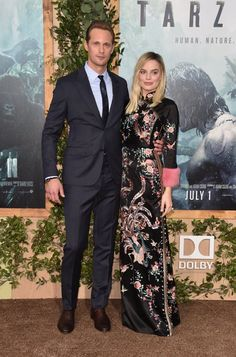Pin for Later: Alexander Skarsgard Sadly Did Not Wear a Loin Cloth to the Red Carpet Premiere of Tarzan