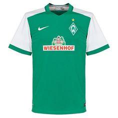 Camiseta del Werder Bremen 2015-2016 Local  werderbremen Camisetas De Fútbol 590bc3a14c4b6