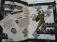 Opera art journal page