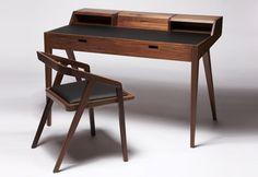 Neat writing desk