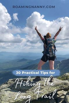 So you're thinking of hiking the Long Trail in VT. These 30 practical tips help will make your Long Trail hike an amazing experience. Thru Hiking, Hiking Tips, Hiking Essentials, Hiking Photography, Trail Guide, Worldwide Travel, Appalachian Trail, Day Hike, Travel Usa