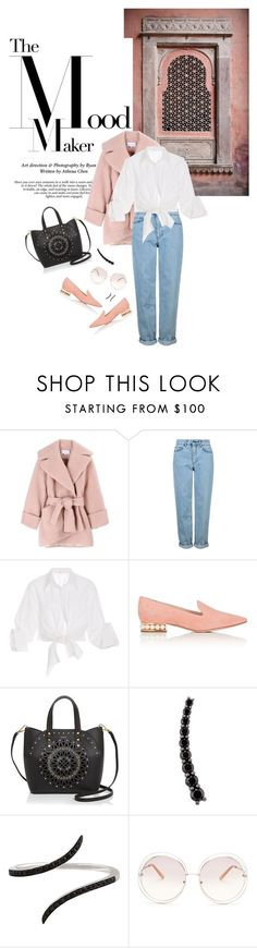 """""""Winter 2016: Trendy and chic"""" by ecletica-and-chic ❤ liked on Polyvore featuring Carven, Topshop, Johanna Ortiz, Nicholas Kirkwood, Furla, Alinka, Christina Debs and Chloé"""