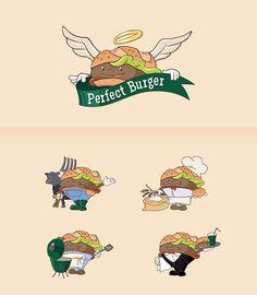 Perfect Burger Mascotte   indigio