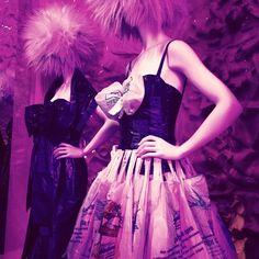 Photo by karinaeargudo  #moschino #mymoschino #dress #punk