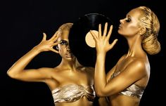Gold Bodypainting