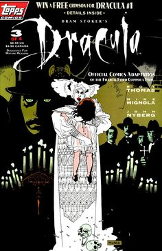 Bram Stoker's Dracula 3/4 by Mike Mignola