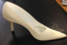Stampa di una scarpa in 3D con il tacco in ABS