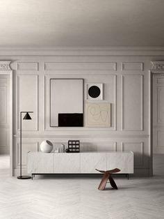 Home Interior Apartment Home Interior Design, Interior Architecture, Interior And Exterior, Interior Decorating, Home Living Room, Living Room Designs, Living Spaces, Deco Design, Design Art