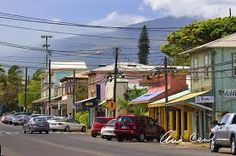 The town of Paia in Maui, HI....what a cute, fun little town!