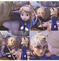 Jack Y Elsa, Jack Frost And Elsa, Disney Princess Fashion, Disney Princess Pictures, Frozen And Tangled, Disney Frozen Elsa, Jelsa, Dark Jack Frost, Jake Frost
