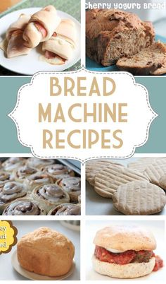 Own a bread machine but don't know what to do with it? You're not alone! Good bread machine recipes are hard to come by. Here is a great collection of tried and true recipes that you can keep on hand for when you get the itch to bake! Recipes for breakfast, lunch and dinner!