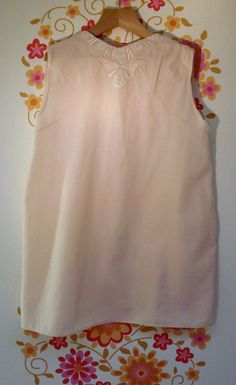 Vintage Christening Gown, 1940's.