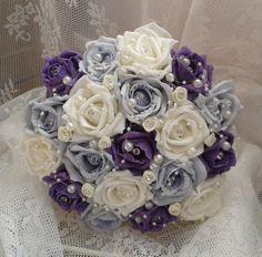 Brides Wedding Bouquet with matching Groom & Best by LaMaisonFleur, £45.00