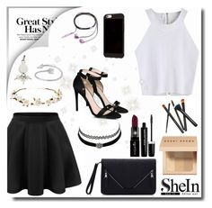 """Cami Top // SheIn"" by sandra-smileska ❤ liked on Polyvore featuring STELLA McCARTNEY, Marc Jacobs, Smashbox, Bobbi Brown Cosmetics, Charlotte Russe, Cult Gaia, Alexander Wang and Nicole Miller"