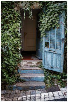 Porte Bleue, Cogolin (Provence), Provence,