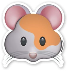 Hamster Face | Emoji Stickers